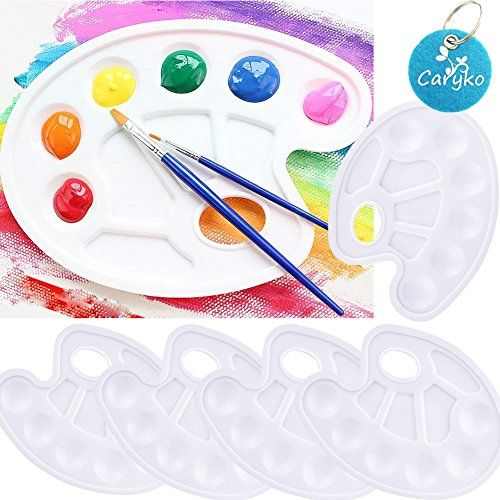 Caryko 5 Pieces Paint Tray Palettes with Thumb Hole Caryko https.