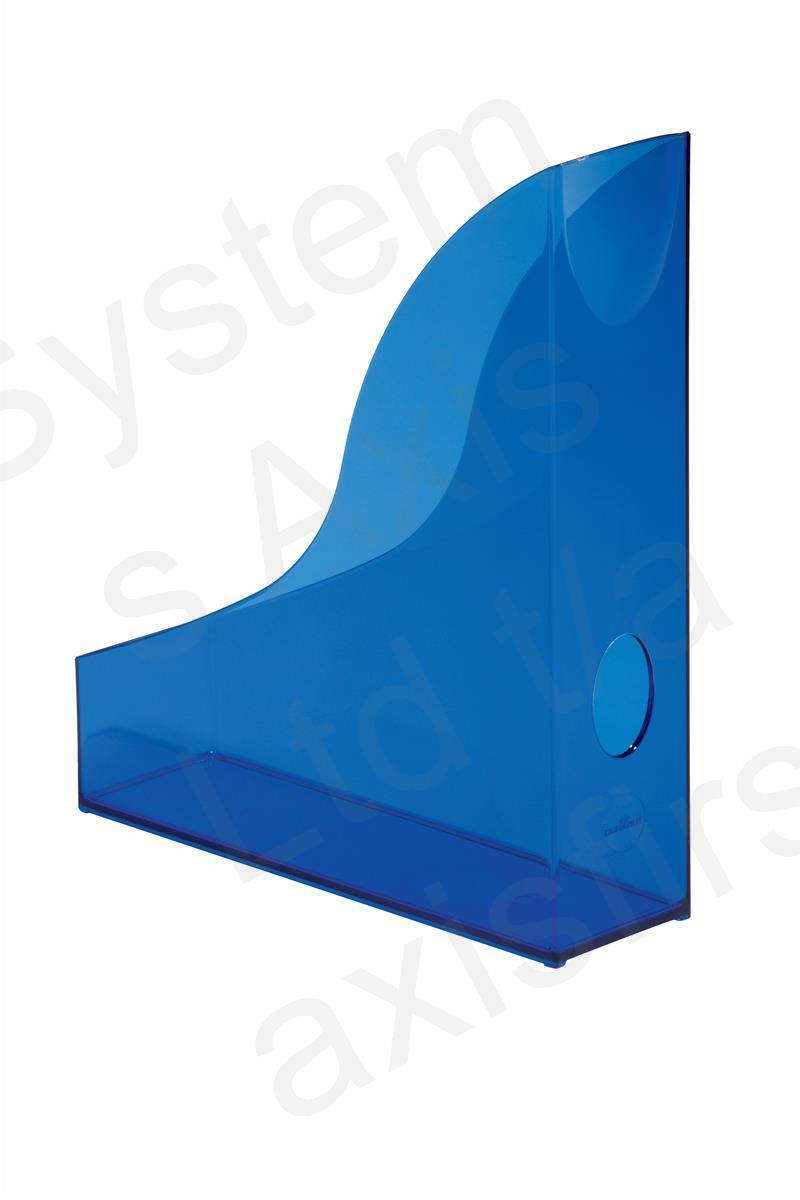 Durable Radiance (A4) Magazine Rack Plastic with Thumb Hole.