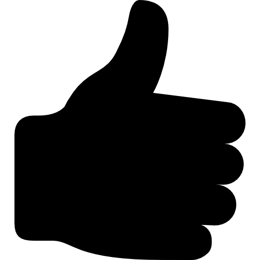 Thumbs up Icons.