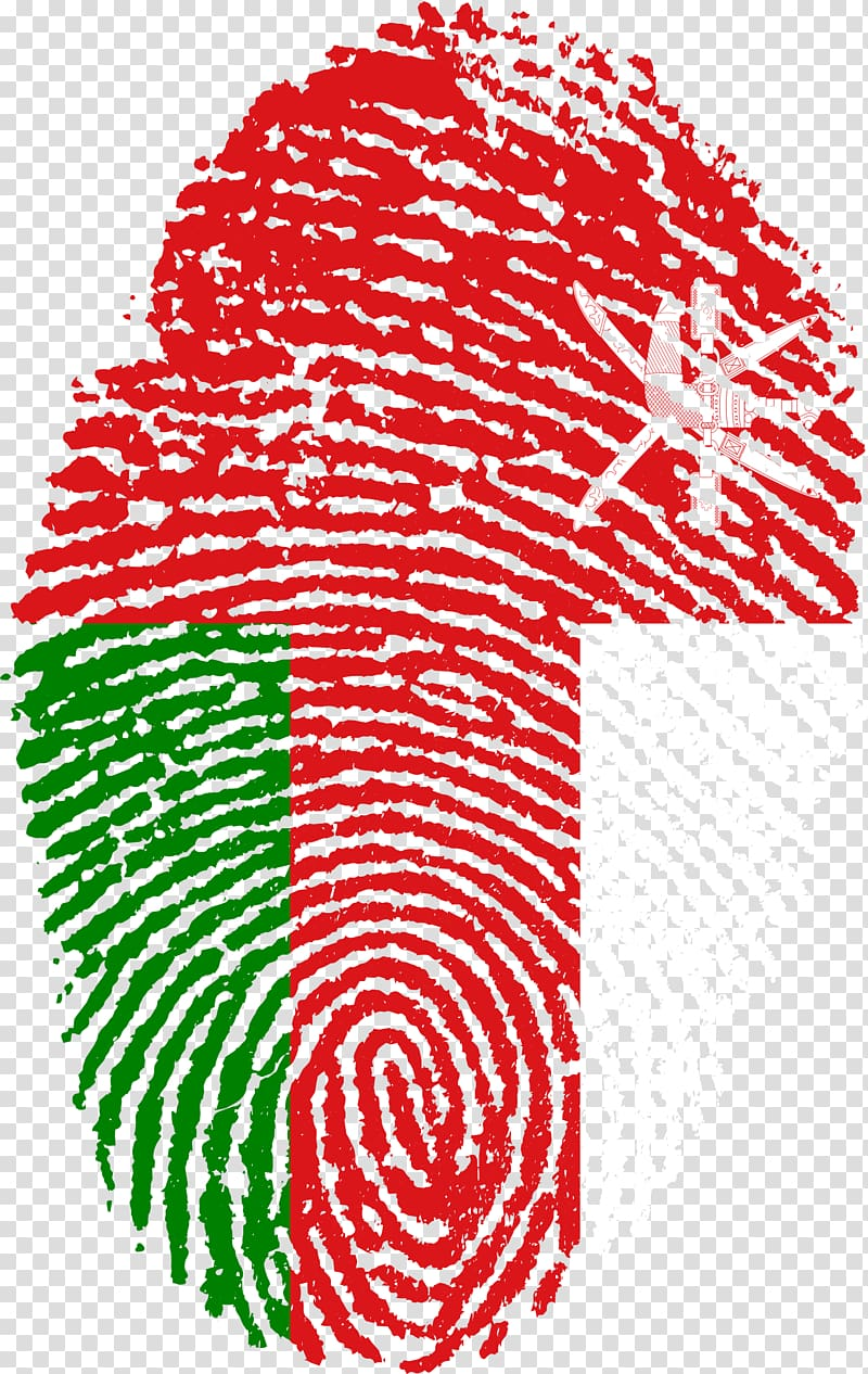United Arab Emirates Flag of China Fingerprint, finger print.
