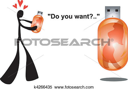 Clipart of shadow man love sexy thumbnail k4266435.