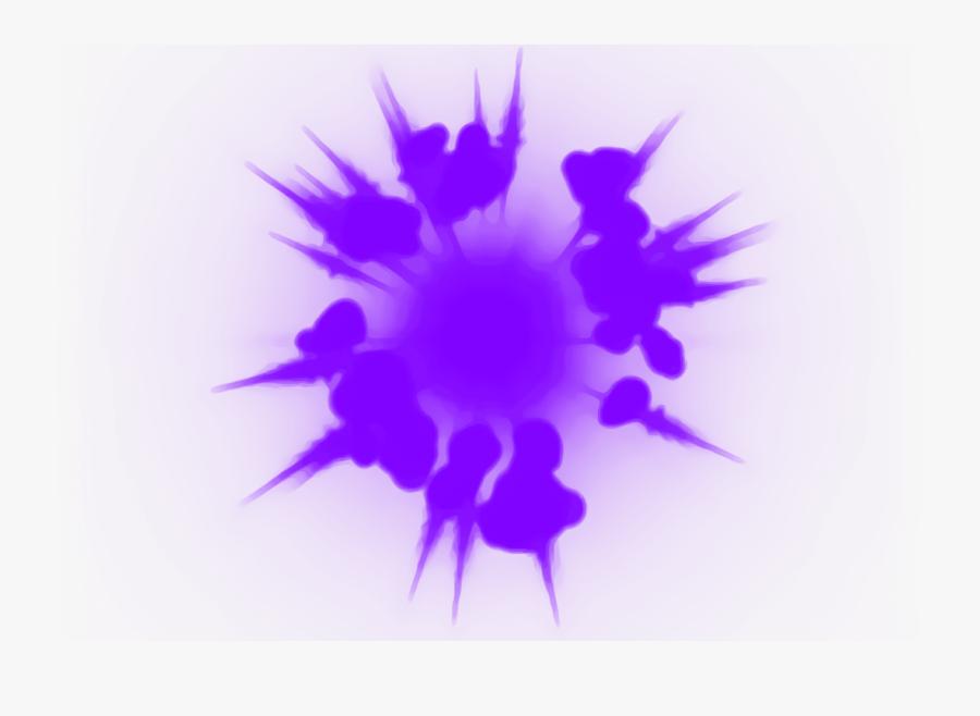 Transparent Purple Effect Png.