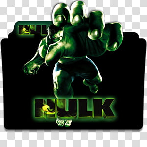 Hulk Double Feature Folder Icon , The Incredible Hulk.