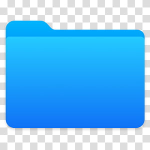 Next Folders Icon, Desktop, blue folder icon transparent.
