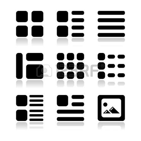 1,273 Thumbnails Stock Vector Illustration And Royalty Free.