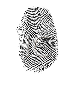 Thumbprint.