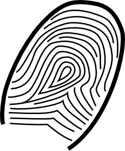 Fingerprint Clip Art at Clker.com.