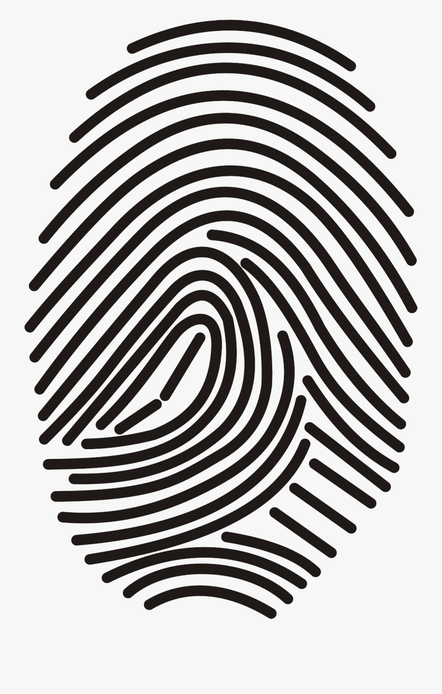 Transparent Fingerprint Png.