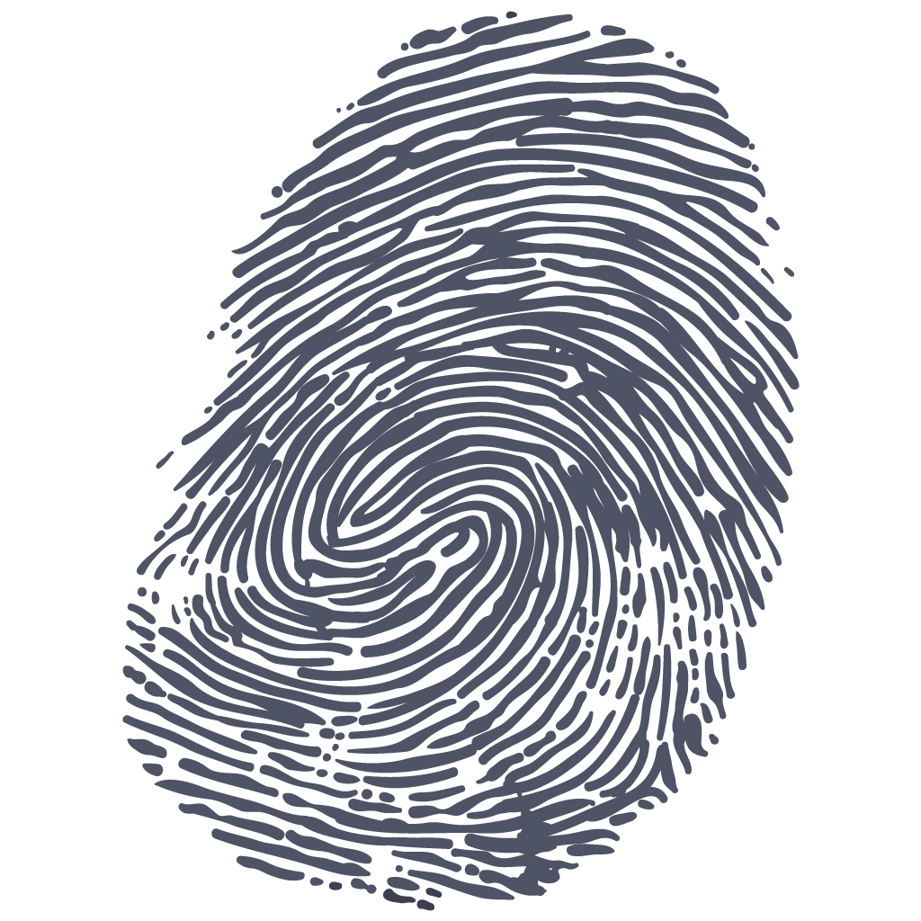 Fingerprint PNG Transparent Images.