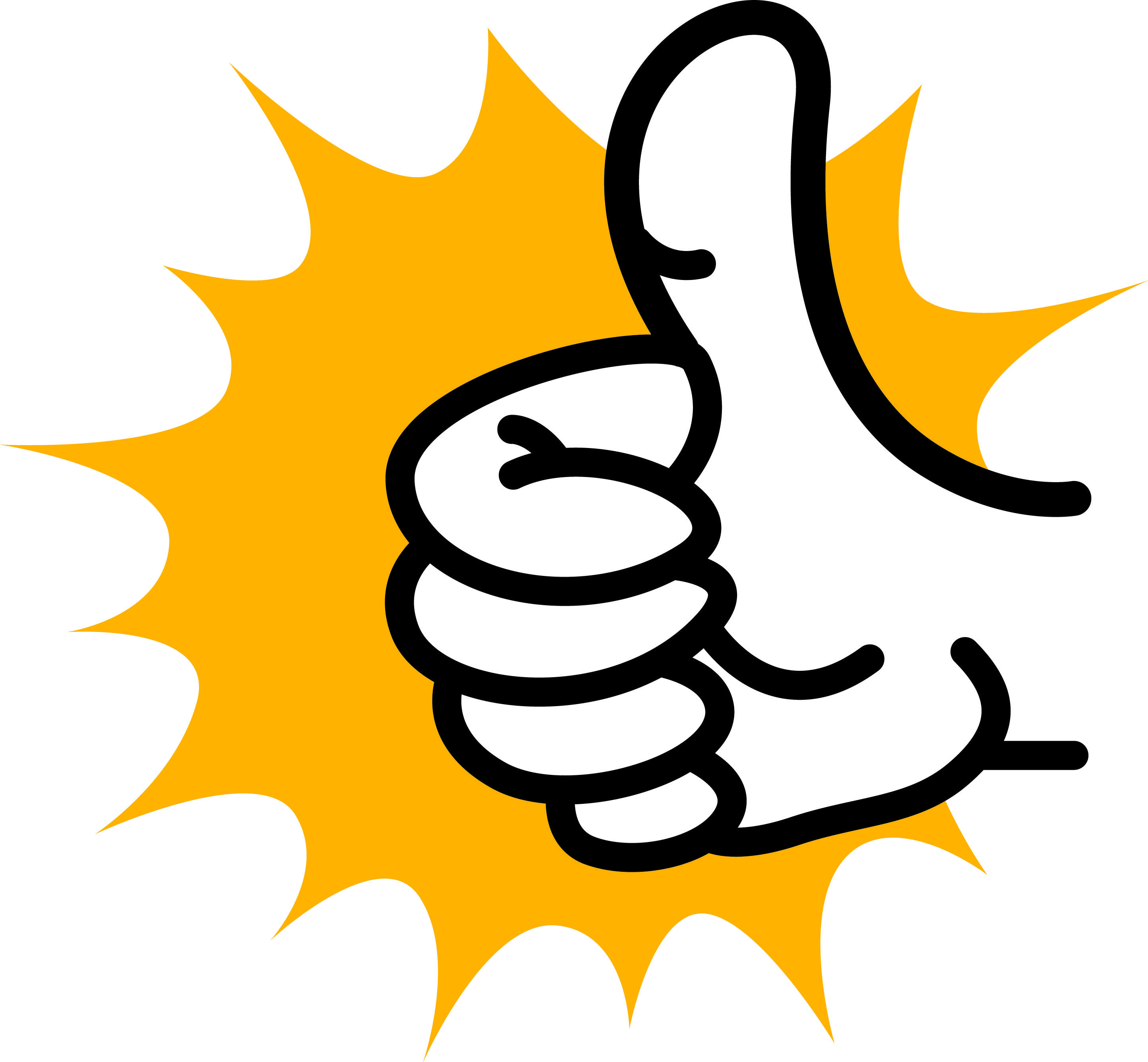 Thumbs Up Clipart Transparent Background.