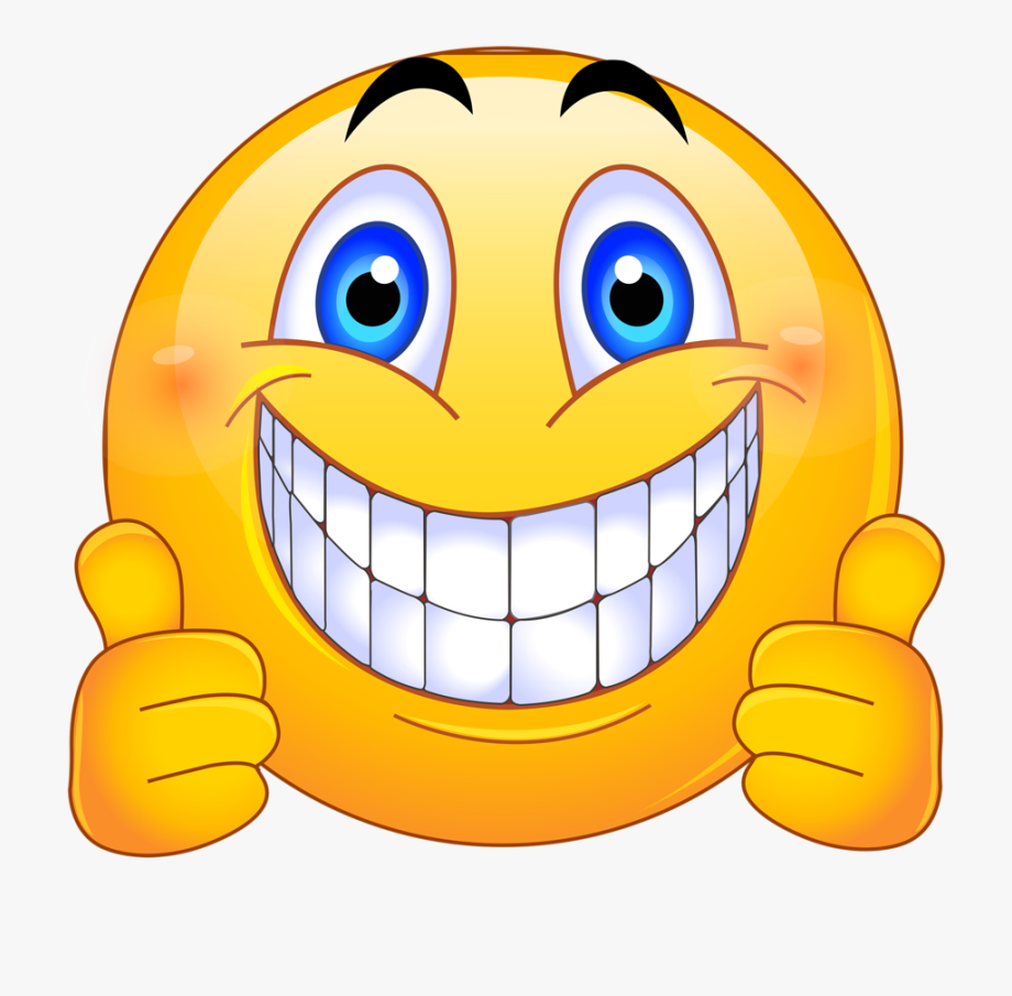 Thumbs Up Smiley Face Png.