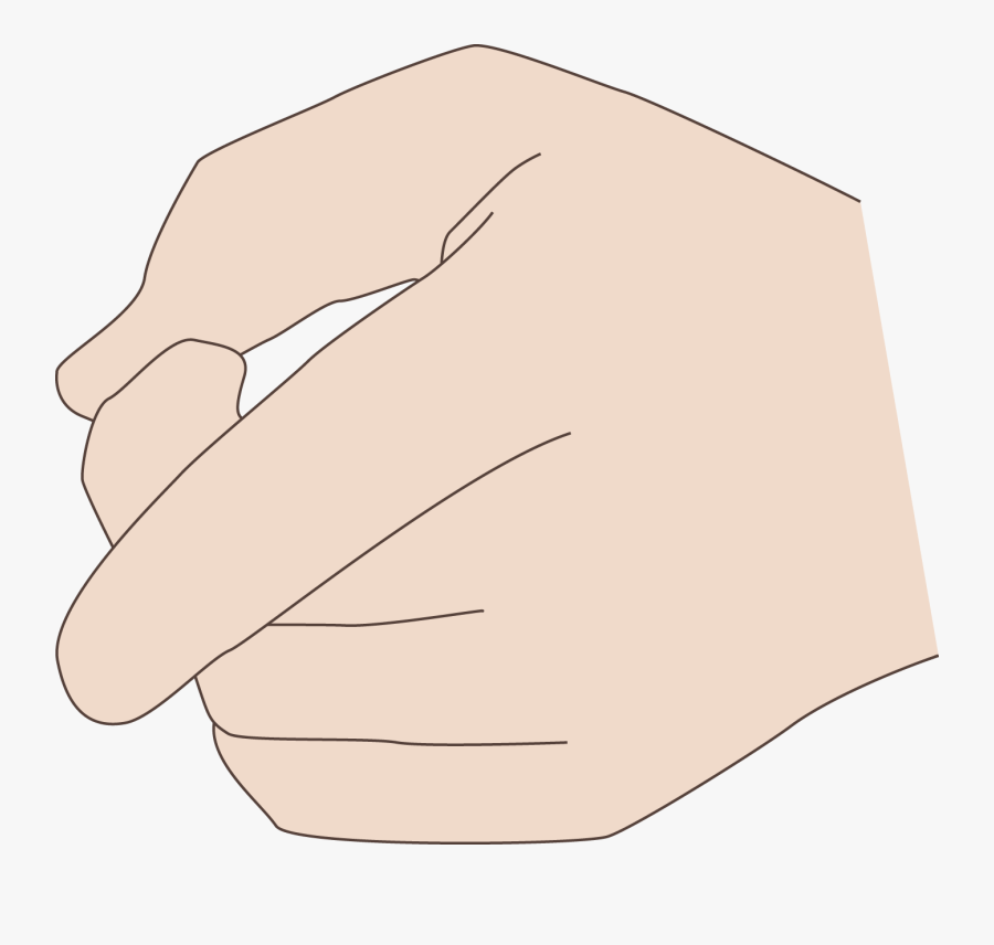 Transparent Thumbs Pointing To Self Clipart , Free.