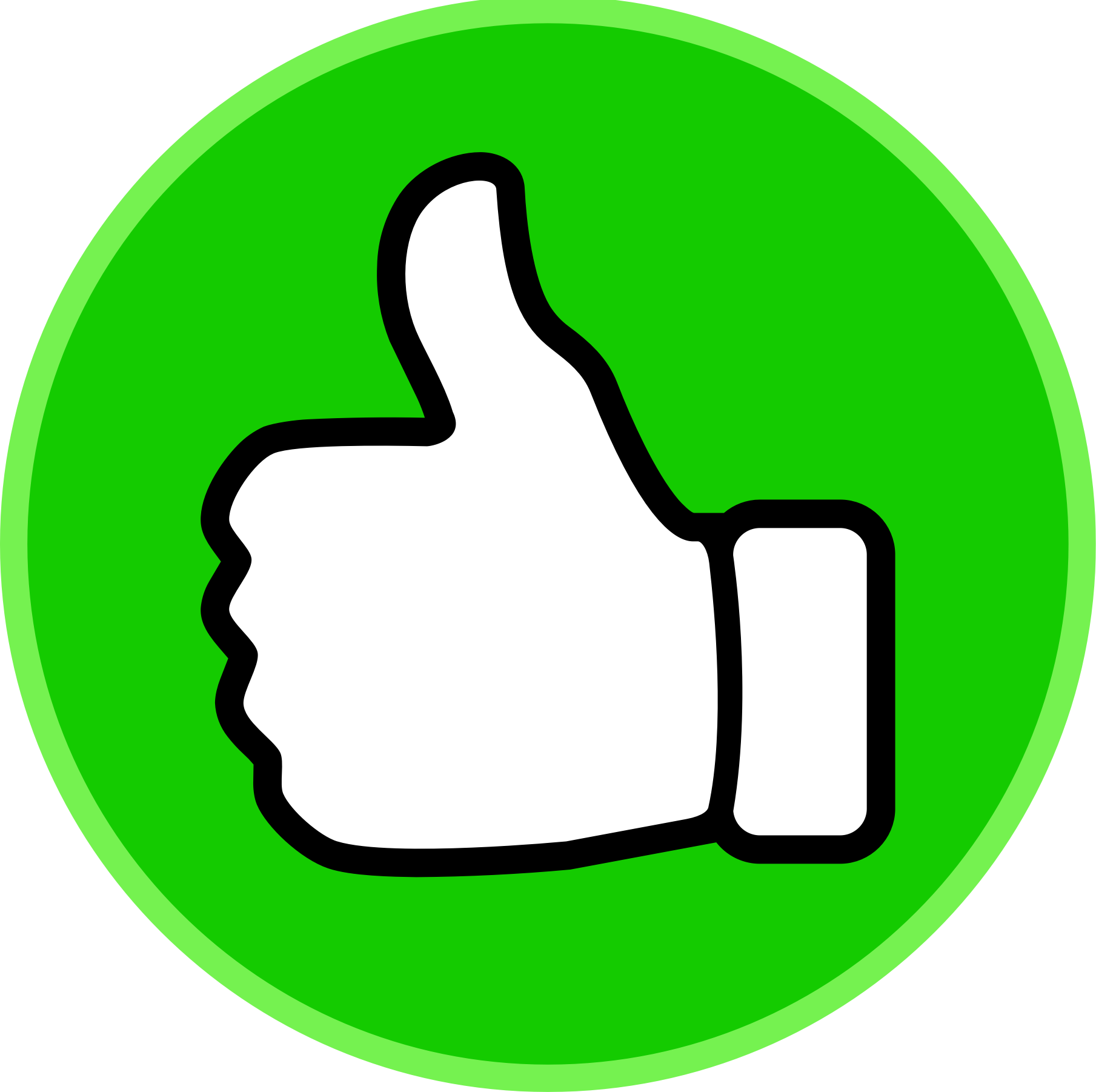 Best Thumbs Up Clipart #22075.