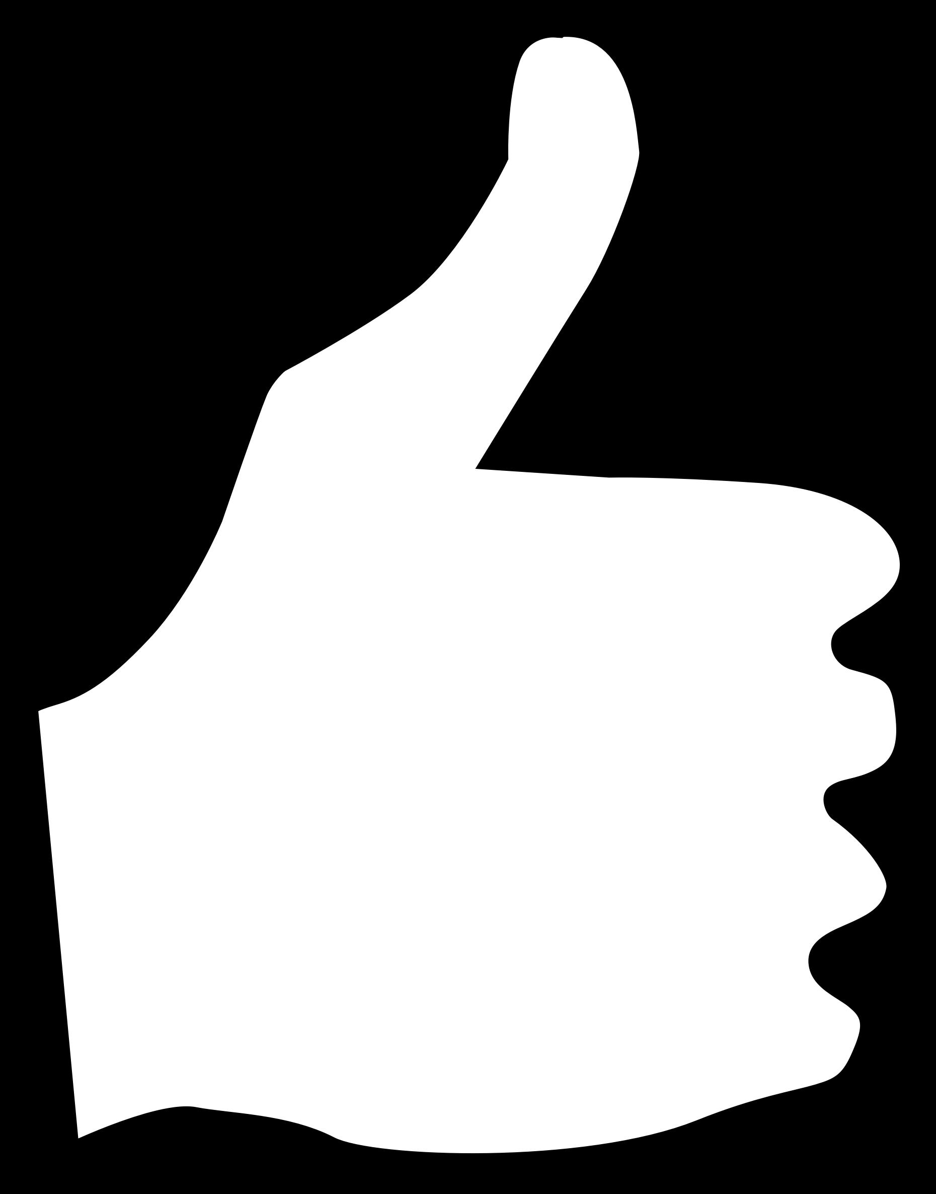 Thumb signal Drawing Clip art.
