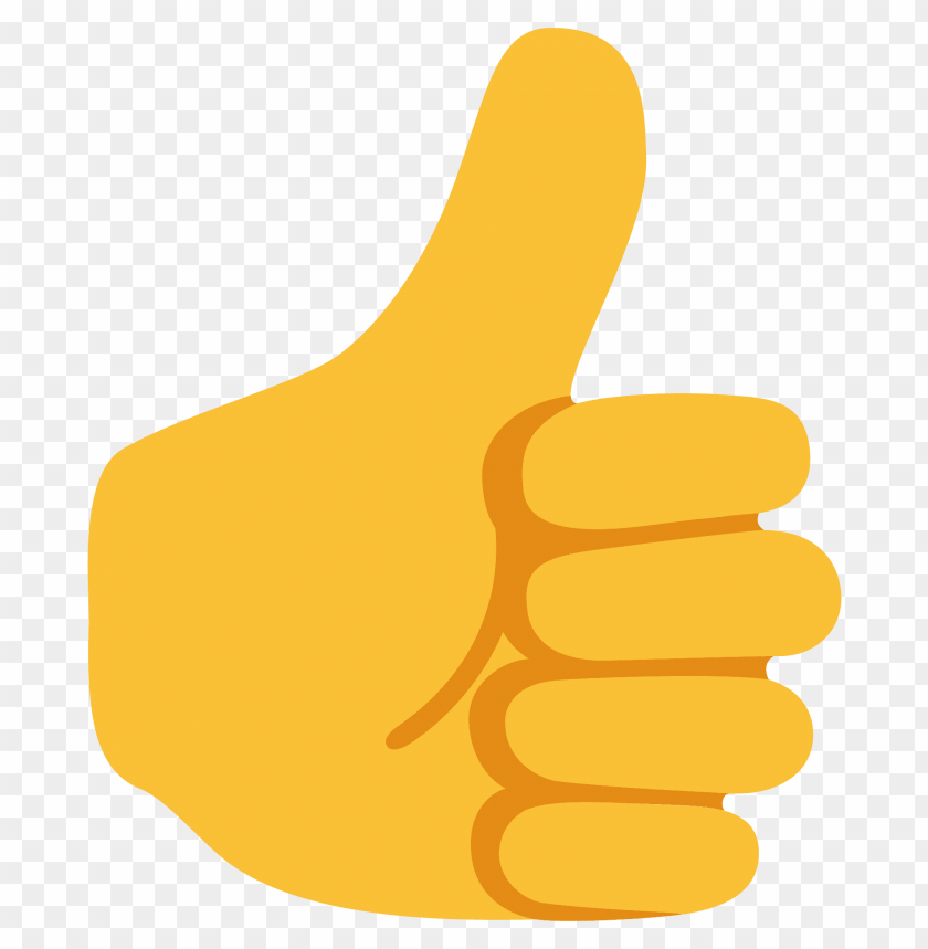 Download thumbs up emoji clipart png photo.