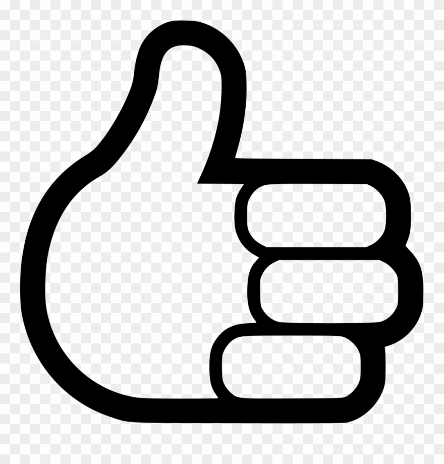 Thumbs Up Svg Png Icon Free Download.