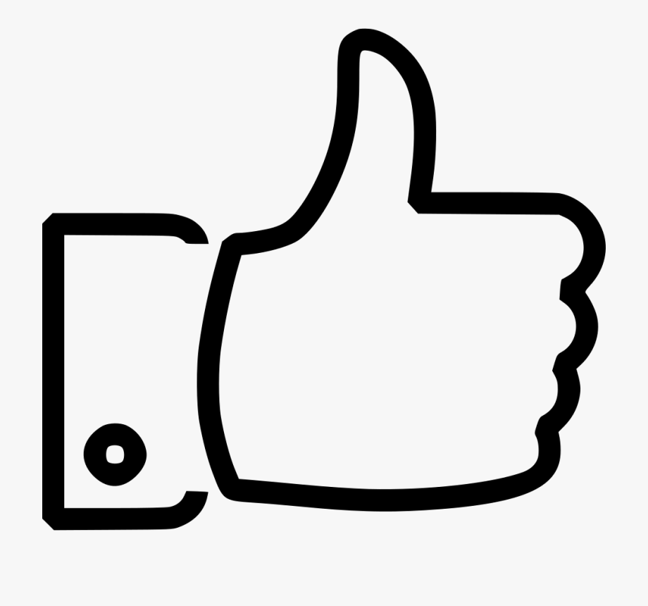 Vector Library Yes Clipart Thumbs Up Icon.