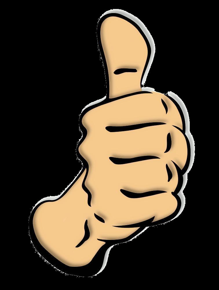 Thumbs Up Thumb Clip Art Clipart Clipartix Transparent Png 2.