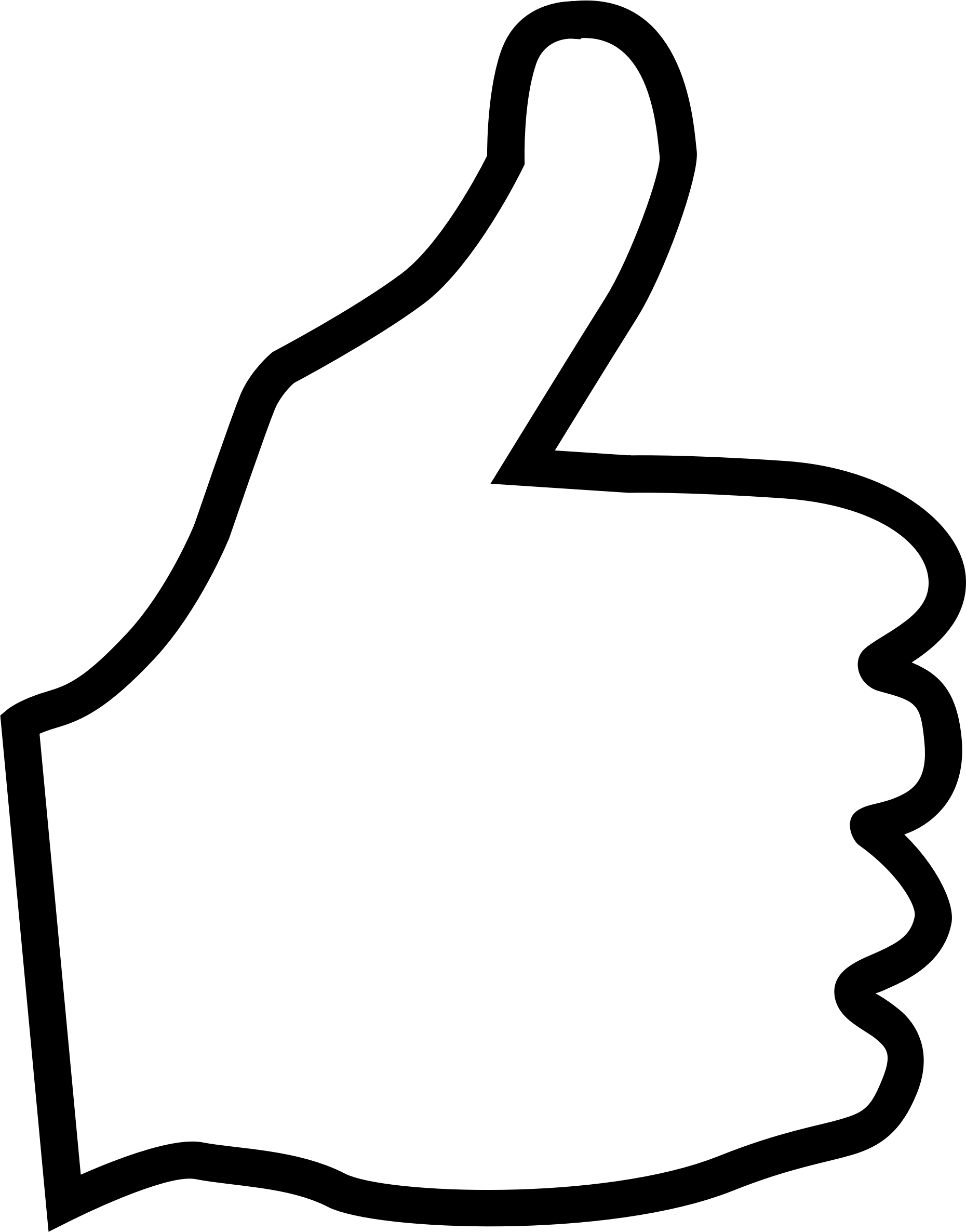Thumbs Up Free Clip Art On Clipart Library Transparent Png.