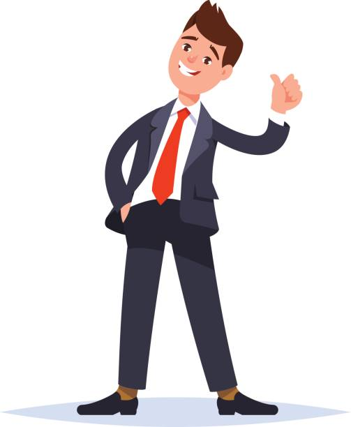 Clipart Man With Thumbs Up.