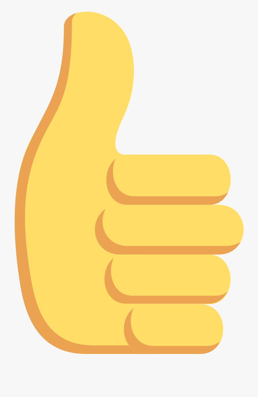 Thumbs Up Hand Emoji Clipart Discord Transparent Png , Free.