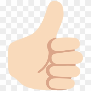 Thumbs Up Emoji PNG Transparent For Free Download.
