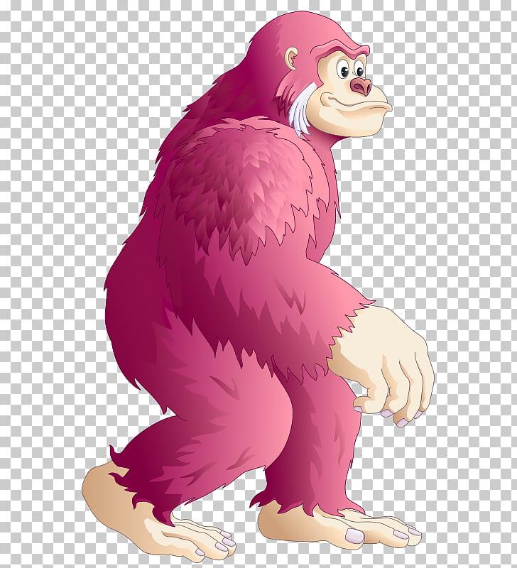 Gorilla Mammal Monkey , gorilla PNG clipart.