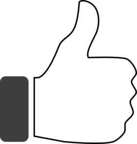Thumbs up thumb up clipart.