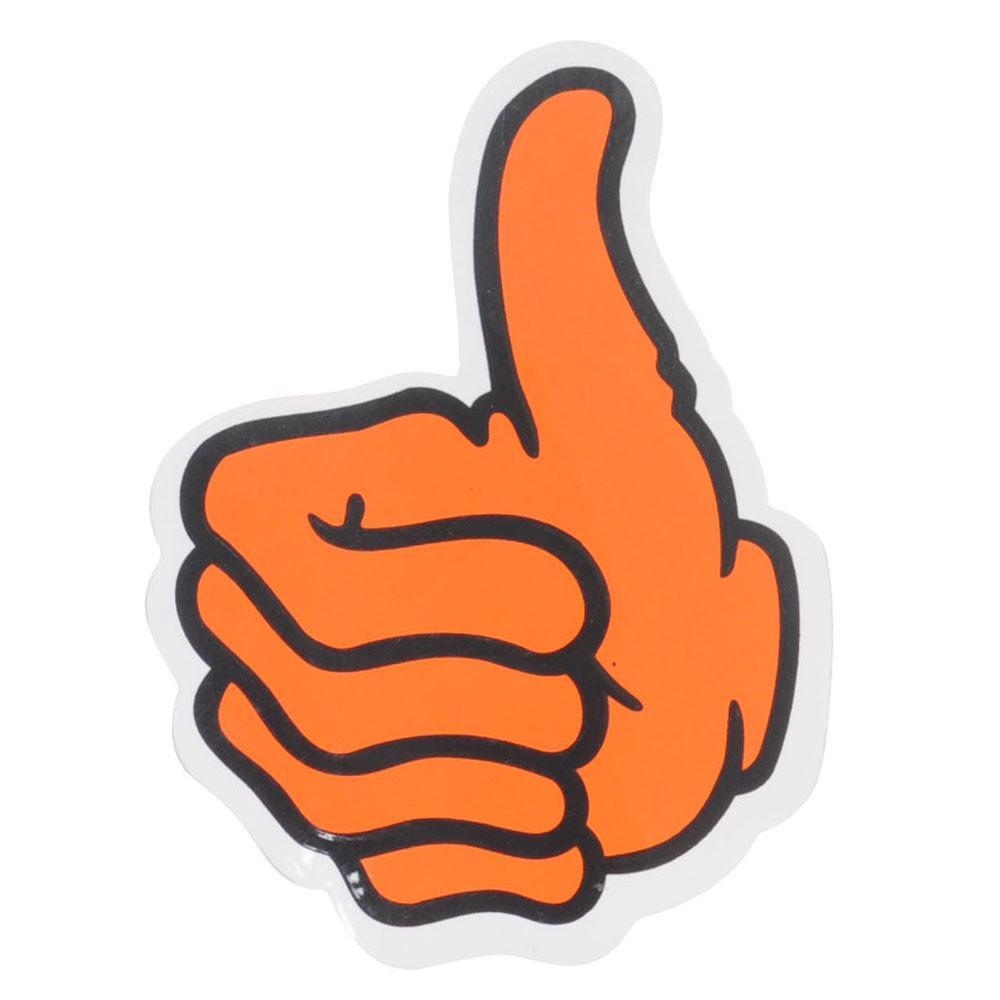 Bro Style Thumbs Up Logo Medium Sticker.