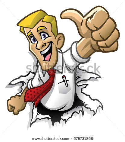 Thumbs Up Man Stock Images, Royalty.