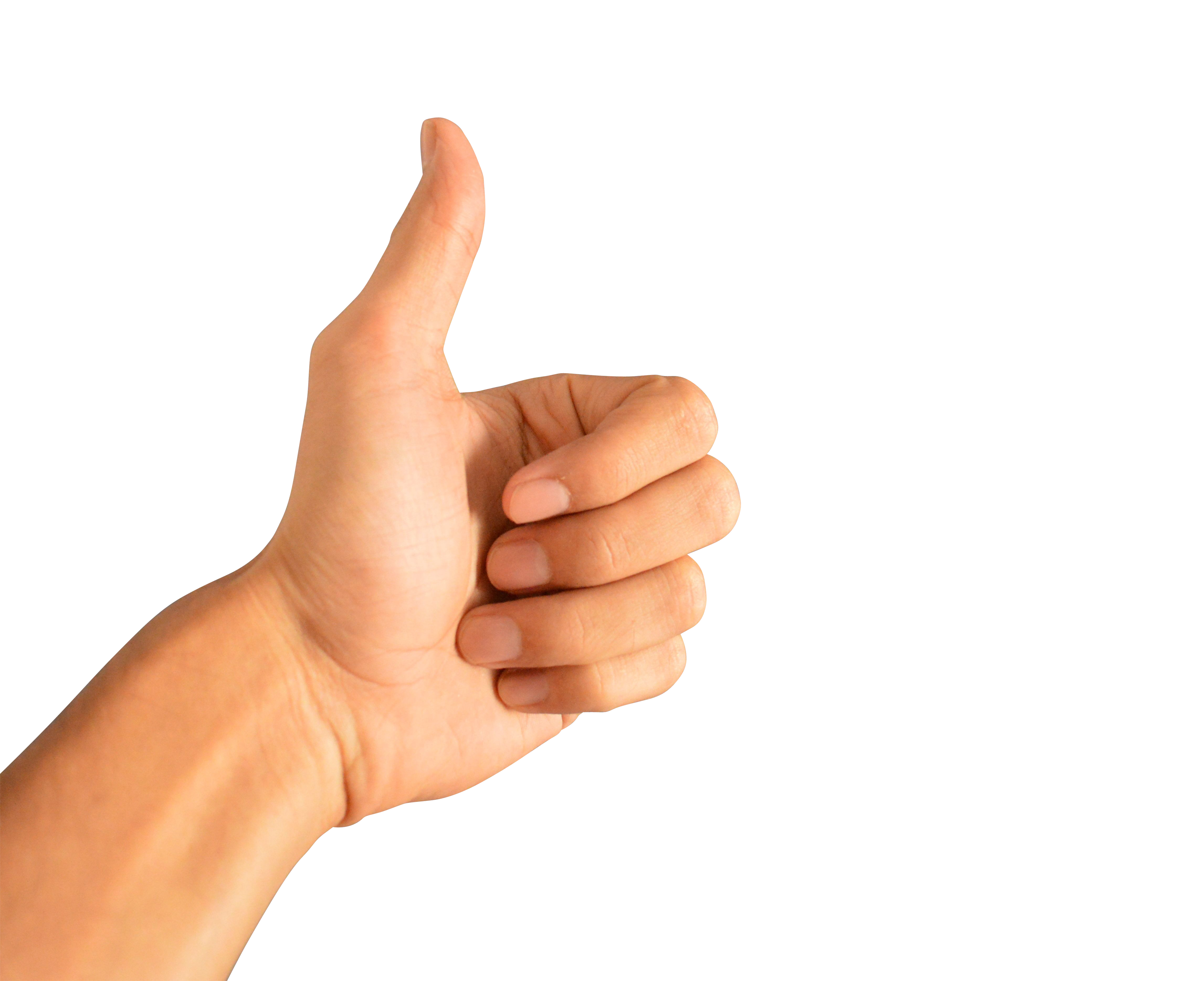 Thumbs Up PNG Image.