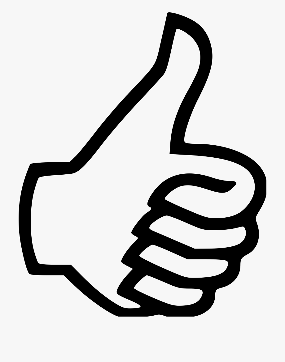 Thumbs Down Clipart Transparent.