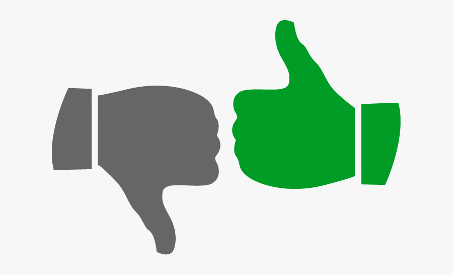 Thumbs Up And Down Png.