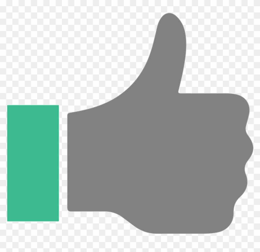 Thumbs Up Vector Icon.