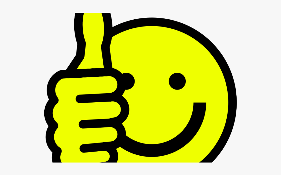 Thumbs Up Smiley , Free Transparent Clipart.