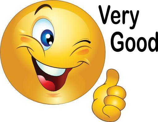 Emoticon happy two thumbs up happy smiley emoticon clipart.