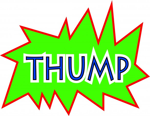 Comic Thump Sound Effect Free Stock Photo.