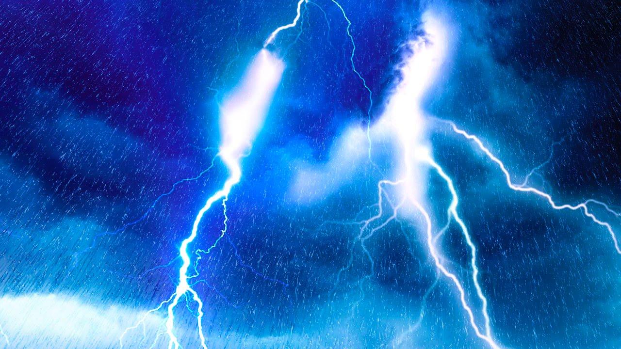 EPIC THUNDER & RAIN.