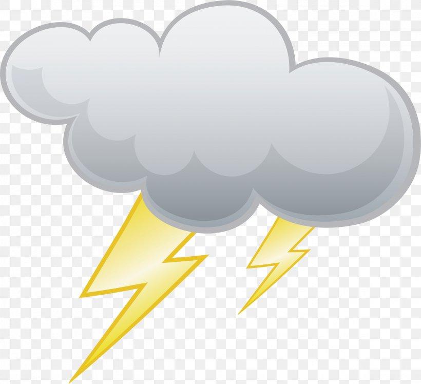 Lightning Cloud Thunder Clip Art, PNG, 2347x2142px.