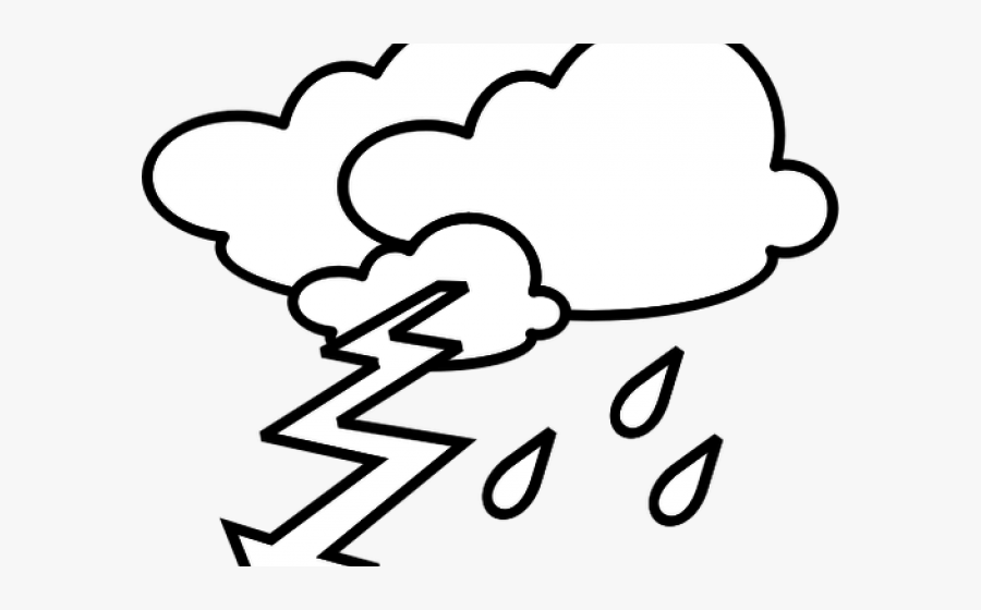 Thunder Clipart Black And White , Free Transparent Clipart.