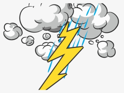 Free Thunder Clip Art with No Background.