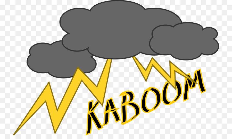 Thunderstorm clipart thunder sound, Thunderstorm thunder.