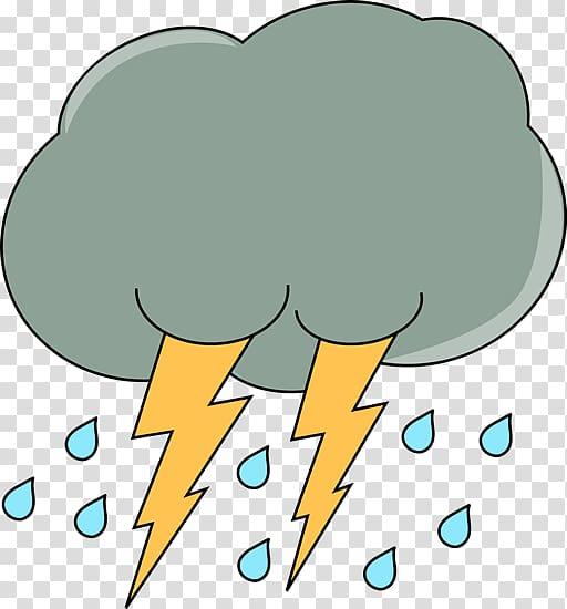 Cloud Rain Lightning Storm Thunder, Cloud transparent.