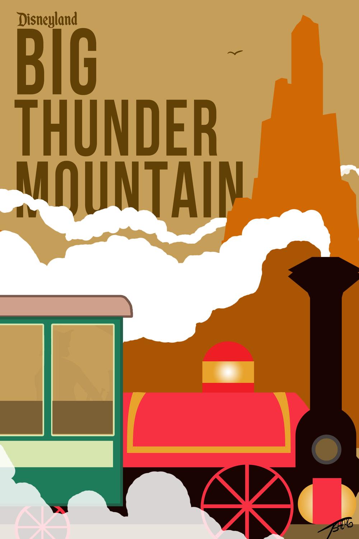 Big Thunder Mountain.