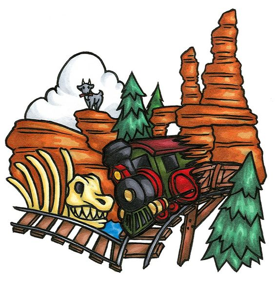 Disney mountains clipart.