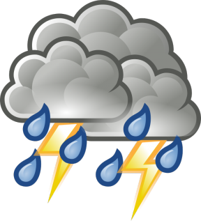 Thunderstorm Clip Art.