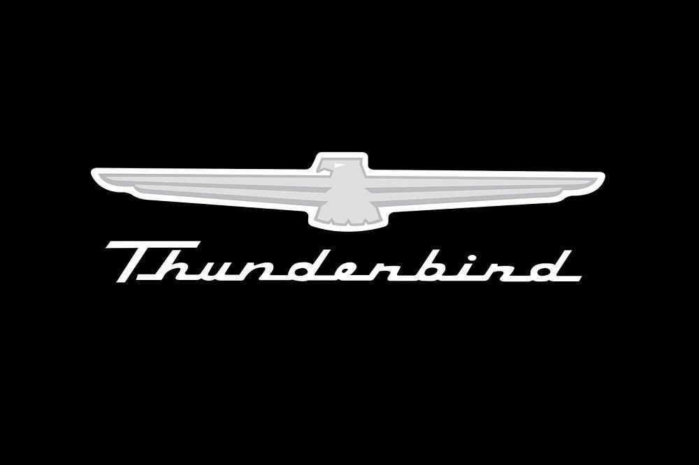 Ford Thunderbird Logo Fender Gripper Soft Cushioned Jumbo.