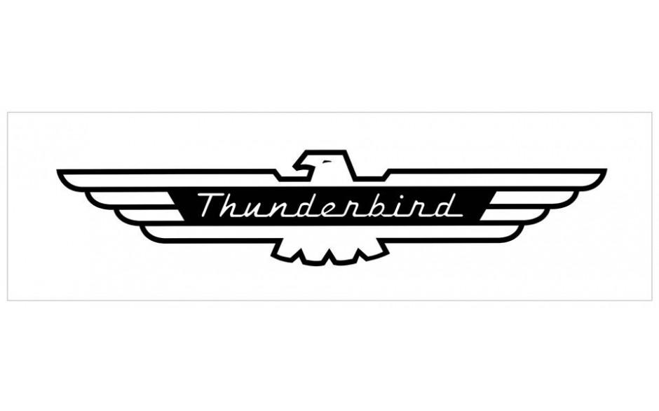 Ford thunderbird Logos.
