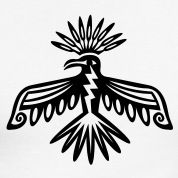 Thunderbird is a Native American symbol оf power and strength.
