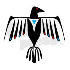 Native American Thunderbird.